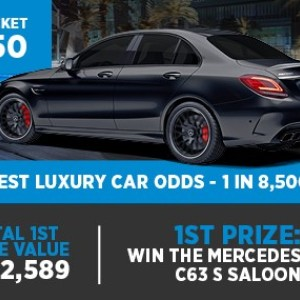 Win the Mercedes-AMG C63 S