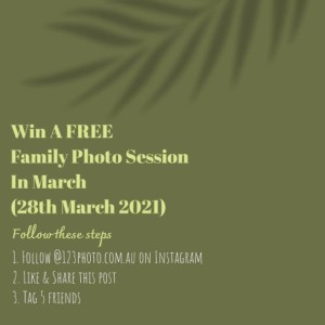 Win a Free Family Photo Session @ Brighton Beach