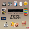 Win $1200 of Products