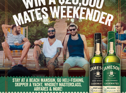 Win a $ 20K Weekender, plus Jameson gear