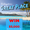 Win 1 of 4 $5,000 Travel Vouchers