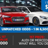 Win $160,000 to spend at Audi or Mercedes