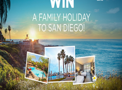 Win a family trip to San Diego