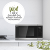 Win 1 of 2 R395EST Sharp Microwave