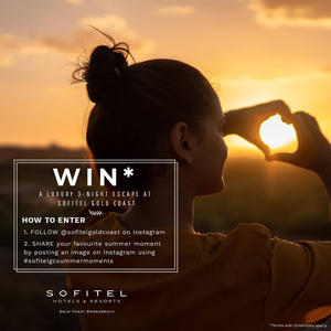 Win a luxury 3-night escape at Sofitel Gold Coast Broadbeach