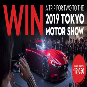 Which Car - Win a trip for two to the 2019 Tokyo Motor Show