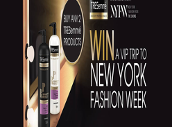 Win 1 of 2 Trips to New York for Fashion Week
