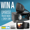 Win a Uniden Truck Radio and Dash Cam Prize Pack