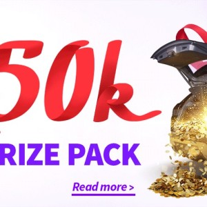 Win Prizes up to $300,000