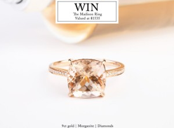 Win a 9ct Gold Madison Ring
