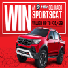 Win an HSV Colorado Sportscat