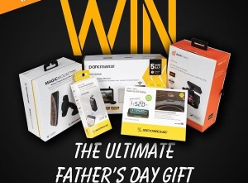 Win the ultimate Fathers Day Gift Pack!