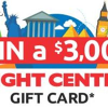 Win a $3,000 Flight Centre Gift Card