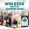 Win 1 of 5 Camping Gear Bundles