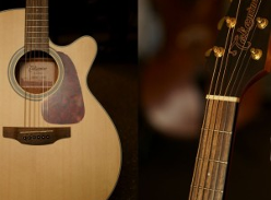 Win a Takamine ED Logans Pianos 100th Anniversary Acoustic Guitar