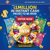 Spin to Win up to $1 Million!