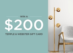 Temple & Webster $200 Gift Card Giveaway