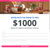 Win $1,000 worth of Candles