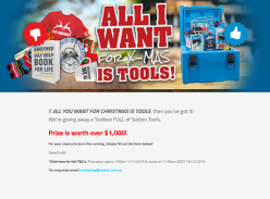 Win $1,000 Worth of Tools