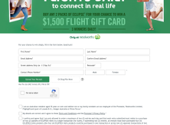 Win $1,500 Flight Gift Card