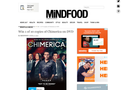 Win 1 of 10 'Chimerica' DVDs
