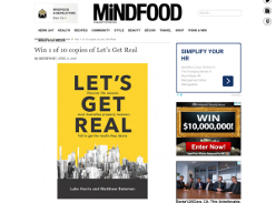 Win 1 of 10 copies of Let's Get Real