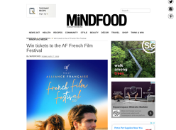 Win 1 of 10 double passes to Alliance Francaise French Film Festival!