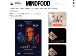 Win 1 of 10 double passes to McKellen: Playing the Part