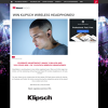 Win 1 of 10 Pairs of Klipsch R5 Wireless Headphones