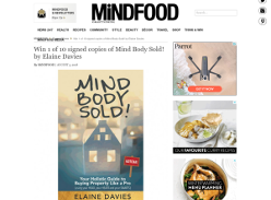 Win 1 of 10 signed copies of Mind Body Sold! by Elaine Davies
