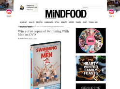 Win 1 of 10 Swimming With Men DVDs