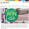 Win 1 of 10 Upright Vacuum Cleaners
