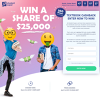 Win 1 of 100 $250 Textbook Cashback Prizes