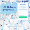 Win 1 of 101 Pairs of Apple AirPods