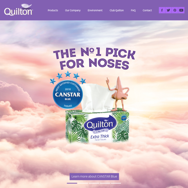 Win 1 of 12 Monthly Prizes of 208 Rolls of Quilton Toilet Tissue