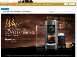 Win 1 of 12 Nespresso Bundles