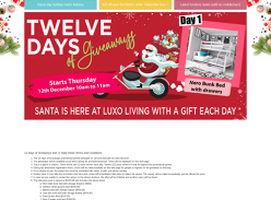Win 1 of 12 prizes valued at $4,056 in total