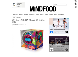 Win 1 of 12 SLIDA Classic 3D Puzzle Balls
