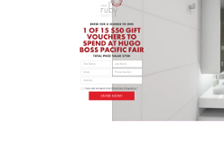 Win 1 of 15 $50 gift vouchers to spend at Hugo Boss Pacific Fair