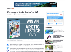 Win 1 of 15 copies of Arctic Justice film on DVD!