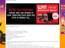 Win 1 of 150 Electronics Packs