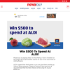 Win 1 of 2 $500 Grocery Vouchers
