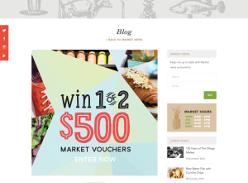 Win 1 of 2 $500 market vouchers!