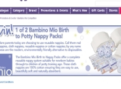 Win 1 of 2 Bambino Mio Birth to Toddler Nappy Packs