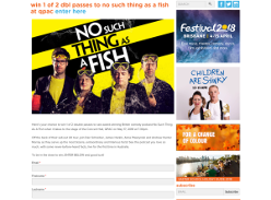 Win 1 of 2 double passes to No Such Thing as a Fish at QPAC