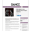 Win 1 of 2 DPs to FOUND by WE.ARE Dance Project at Parade Theatre