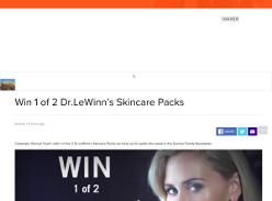 Win 1 of 2 Dr.LeWinn's Skincare Packs