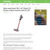 Win 1 of 2 Dyson V11 Outsize cordless vacuums!