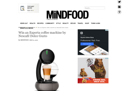 Win 1 of 2 Esperta Coffee Machines