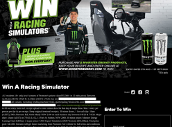 Win 1 of 2 Esport Racing Simulators!
